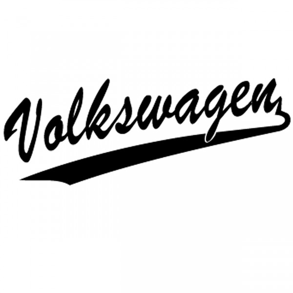volkswagen schriftzug aufkleber sticker creator. Black Bedroom Furniture Sets. Home Design Ideas